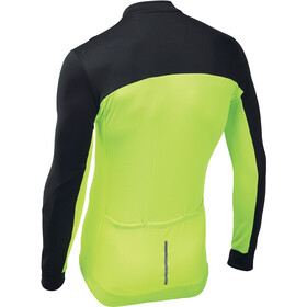 Northwave Force 2 Fietsshirt lange mouwen Heren, black/yellow fluo